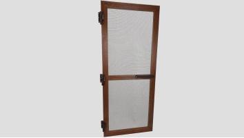 Alumínium nyíló keretes szúnyogháló ajtó (Dió/Fóliás)