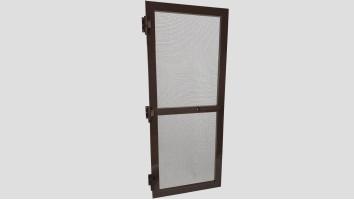 Alumínium nyíló keretes szúnyogháló ajtó (Kongó)