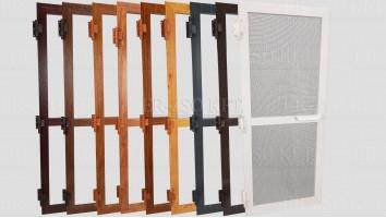 Alumínium nyíló keretes szúnyogháló ajtó