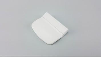 Teraszajtó behúzó fül (műanyag/fehér)
