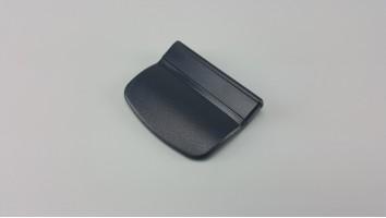 Teraszajtó behúzó fül (műanyag/szürke)
