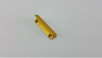 Teraszajtó behúzó fül (fém/arany)