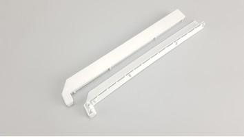 Alumínium/Lemez  párkány végzáró (Fehér) 1
