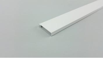 Záróléc (Aluminium/Fehér)