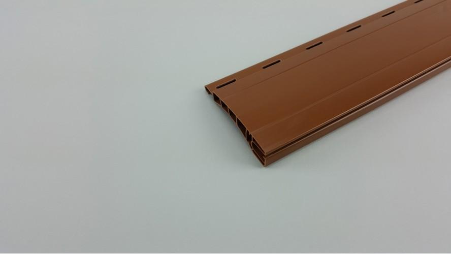 Maxi redőnyléc (Műanyag/Barna/ 160cm-185cm)