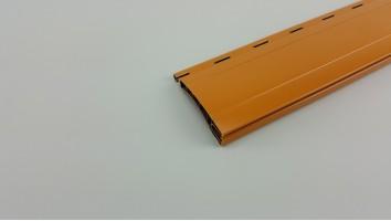Maxi redőnyléc (Műanyag/Mogyoró/ 160cm-185cm)