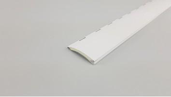 Redőnyléc (Aluminium/40 mm/Fehér)