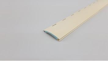 Redőnyléc (Aluminium/40 mm/Világos Beige)