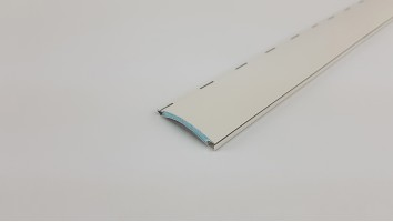 Redőnyléc (Aluminium/40 mm/Szürke)