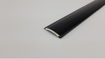 Redőnyléc (Aluminium/40 mm/Fekete)