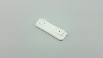 Szúnyogháló ajtó sima talpú visszazárható kilincs (Fehér)