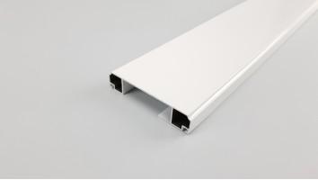 Szúnyogháló ajtó széles osztó profil (Fehér)