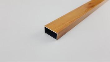 Szúnyogháló ajtó keskeny osztó profil (Világosfa/festett)