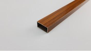 Szúnyogháló ajtó keskeny osztó profil (Sötétfa/festett)