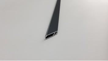 Aluminium keskeny fix szúnyogháló keret (Antracit)