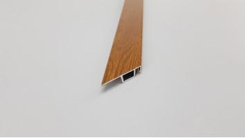 Alumínium peremes szúnyogháló keret (9x32mm/Aranytölgy)