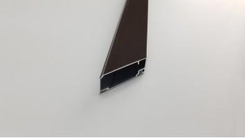 Aluminium szúnyogháló ajtó profil (Kongó)