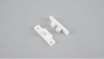 Szúnyogháló ajtó műanyag csappantyú (Fehér)