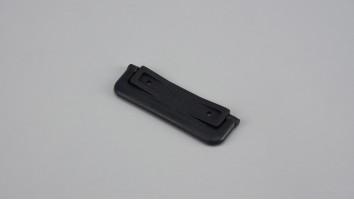 Szúnyogháló ajtó sima talpú visszazárható kilincs (Antracit)