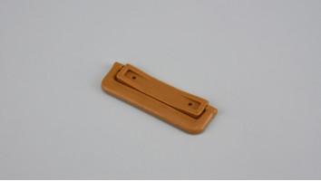 Szúnyogháló ajtó sima talpú visszazárható kilincs (Aranytölgy)