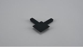 9x32 mm-es alumínium peremes szúnyogháló kerethez külső sarokelem (Antracit)