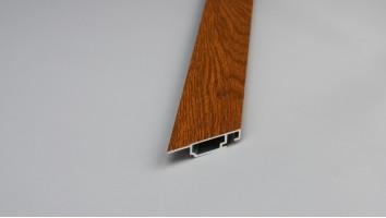 Alumínium peremes szúnyogháló keret (9x36mm/Aranytölgy/Festett)